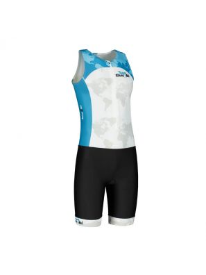 Team tri-suit mens no sleeves
