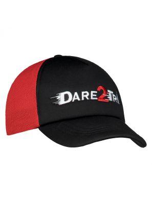 Truckers cap black-red
