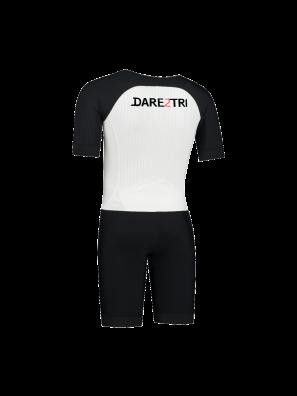 Mens Aero tri-suit white-black