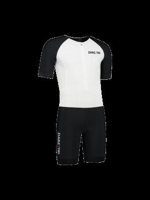 Womens Aero tri-suit white-black