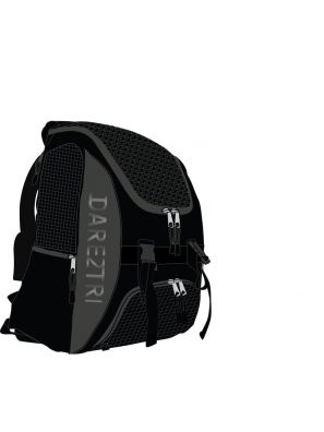 Transition backpack regular black-silver
