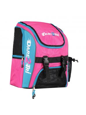 Transition backpack regular pink-blue