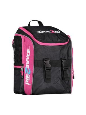 Transition backpack small black-pink