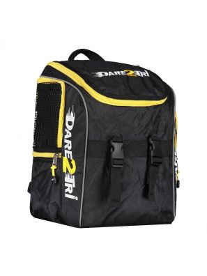 Transition backpack small black-yellow
