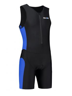 Men's tri-suit black-blue