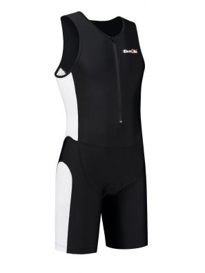 Men's tri-suit black-white