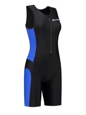 Women's tri-suit black-blue