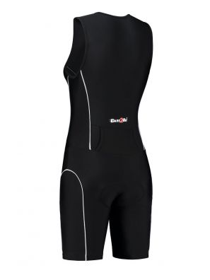 Women's tri-suit black
