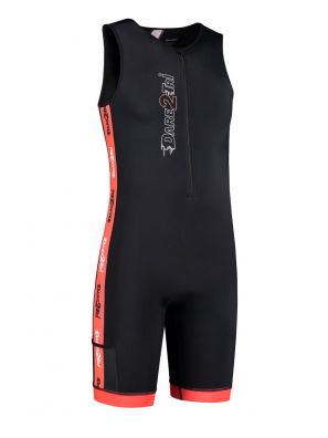 Men's coldmax tri-suit black-red