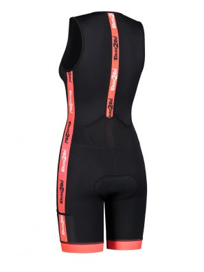 Women's coldmax tri-suit black-red
