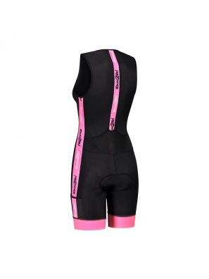 Women's coldmax tri-suit black-pink