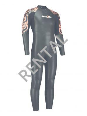 Men's rental wetsuit