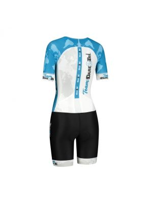 Team tri-suit womens short sleeve