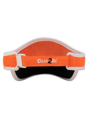 Visor orange-white