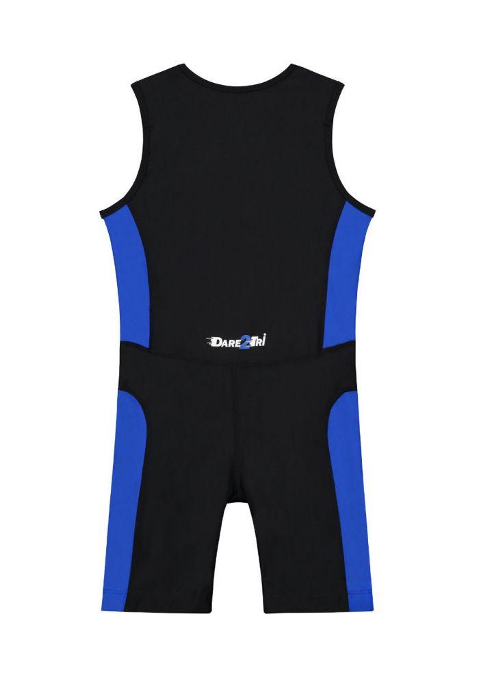 Dare2Tri Womens Tri-Suit Black//Blue